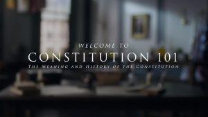 Constitution 101 Course