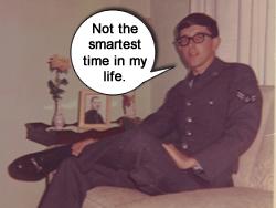Jim is an Airman